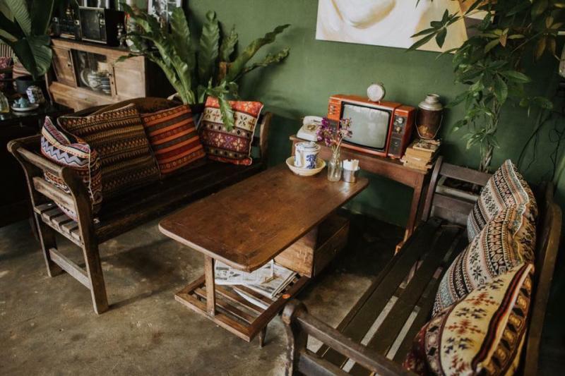 Cửa hàng cà phê số 22 mộc mạc và giản dị như chính tên gọi của nó.