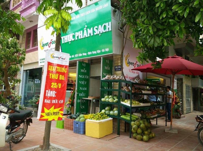 Một góc cửa hàng Clever Food ở Hà Nội