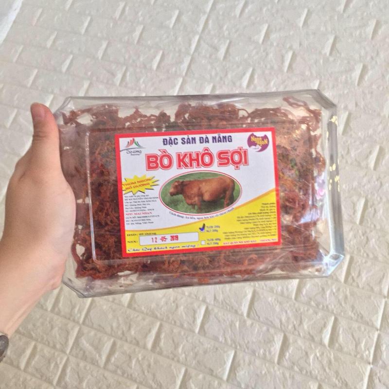 Cửa hàng đặc sản Chính Gốc - địa chỉ mua thịt bò khô ngon nhất Đà Nẵng