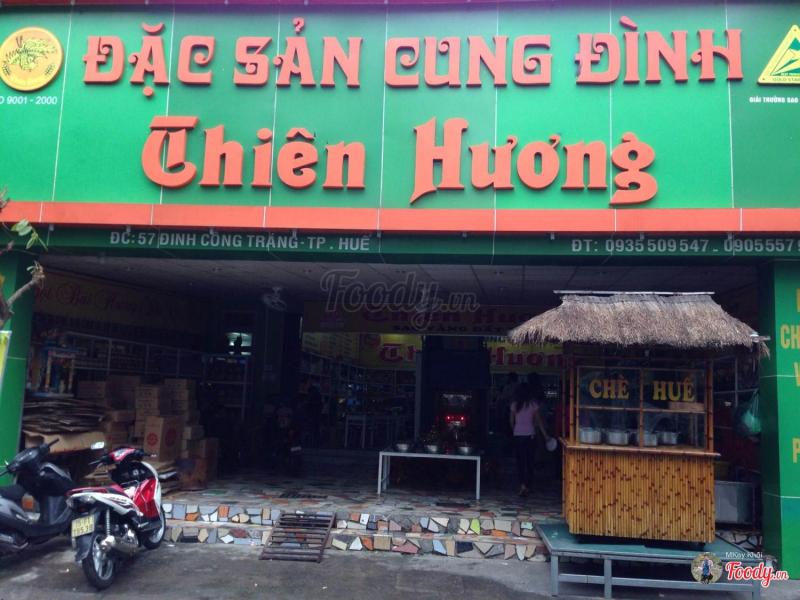 Cửa hàng đặc sản Cung đình Thiên Hương