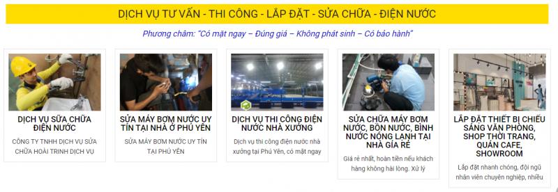 Cửa hàng điện nước Hoài Trinh