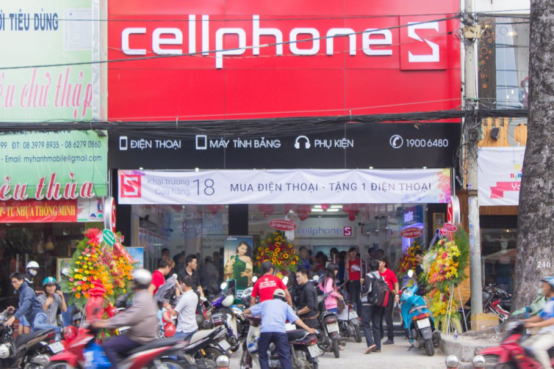Cửa hàng điện thoại CellphoneS