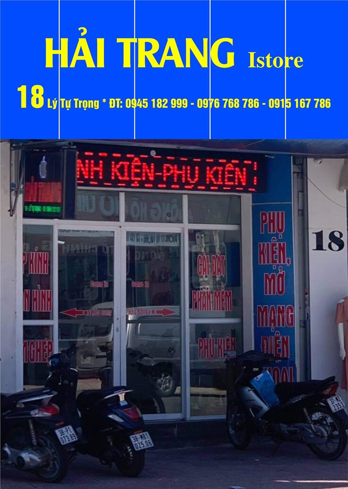 Cửa hàng điện thoại Hải Trang IStore