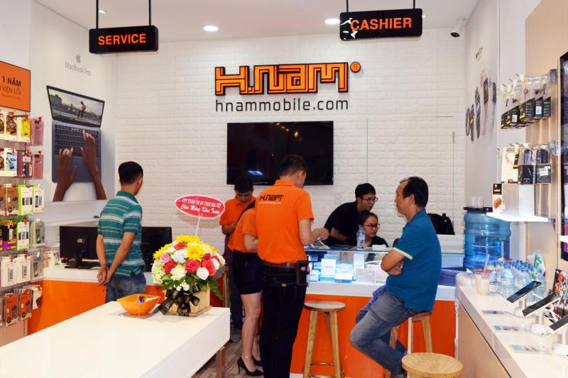 Cửa hàng điện thoại Hnam Lê Hồng Phong