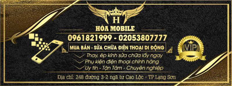 Cửa hàng điện thoại Hòa Mobile