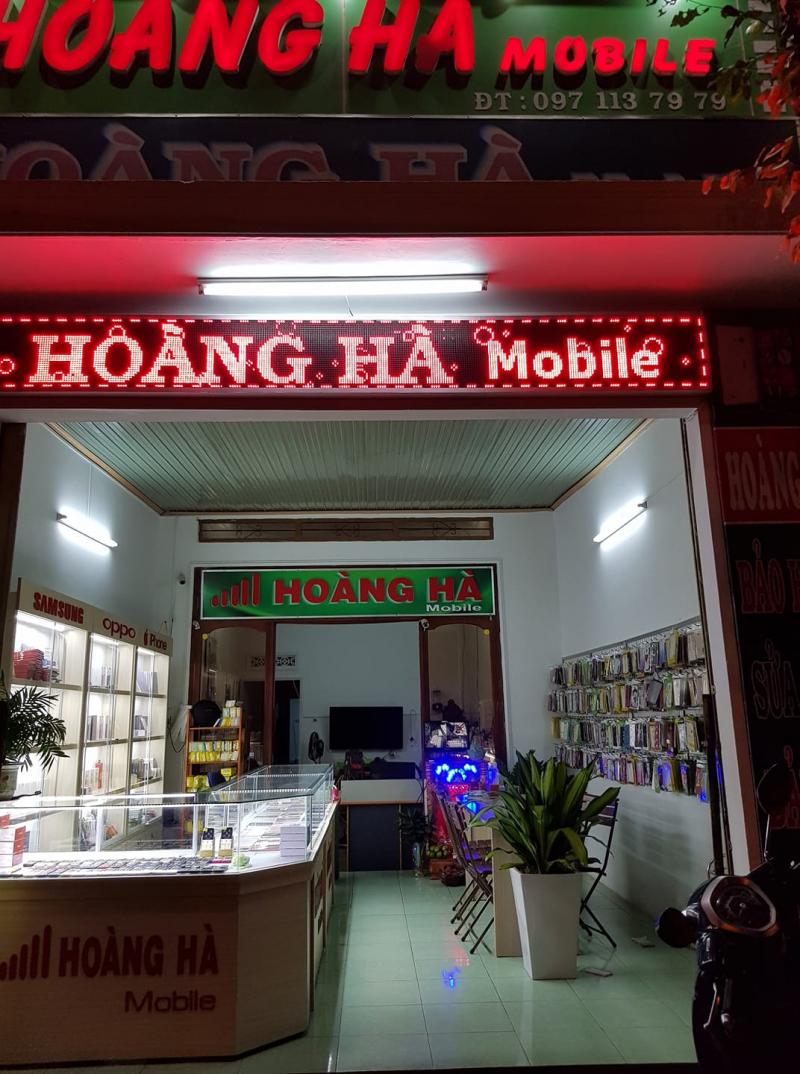Cửa hàng điện thoại Hoàng Hà
