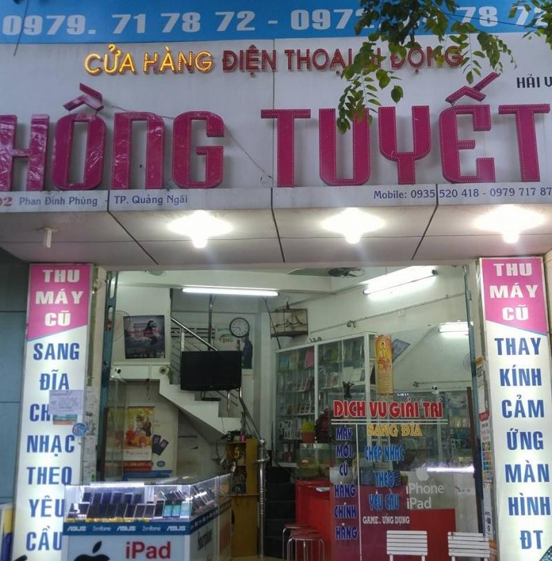 Cửa hàng điện thoại Hồng Tuyết
