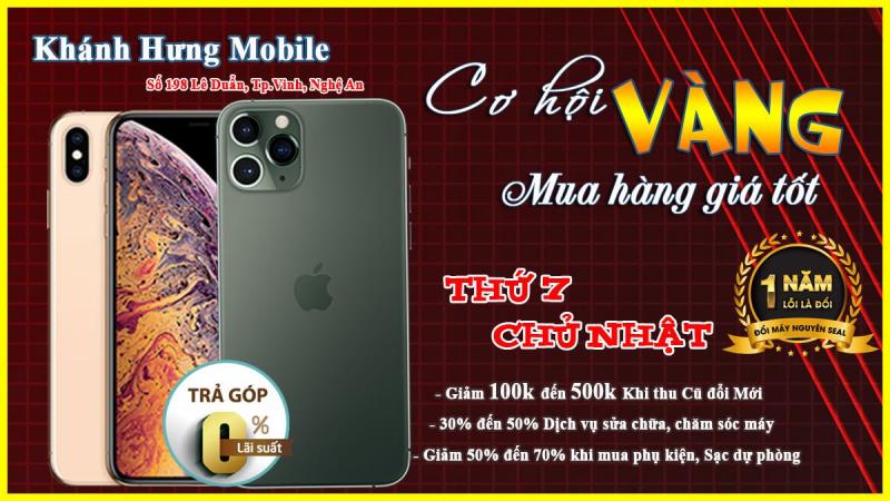 Cửa hàng điện thoại Khánh Hưng Mobile