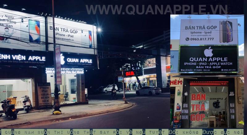 Cửa hàng điện thoại Quan Apple