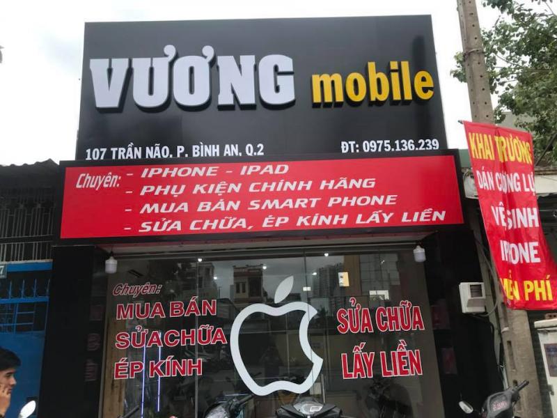 Cửa hàng điện thoại Vương Mobile