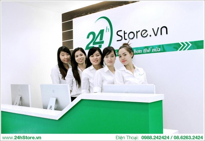 Hệ thống cửa hàng với đội ngũ nhân viên chuyên nghiệp, thân thiện