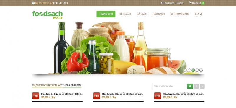 Website chính thức của cửa hàng