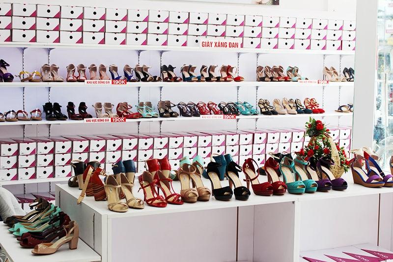 Top 10 cửa hàng giày dép nữ đẹp nhất ở Đà Nẵng