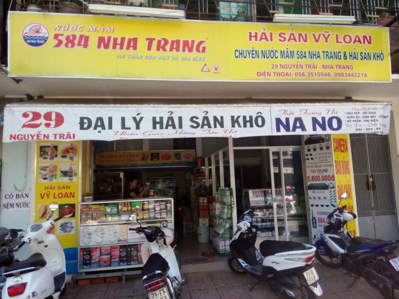 Cửa hàng hải sản khô Vỹ Loan - địa chỉ mua mực khô chất lượng và rẻ nhất Nha Trang