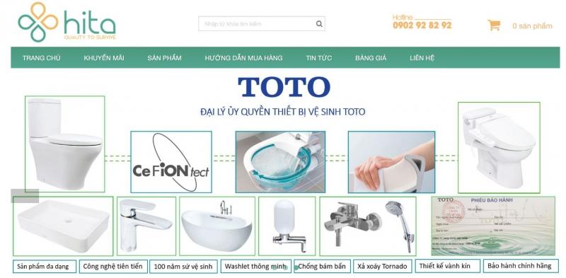 Website cửa hàng Hita