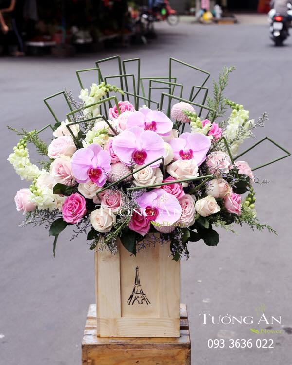 Trang chủ của cửa hàng hoa Tường An
