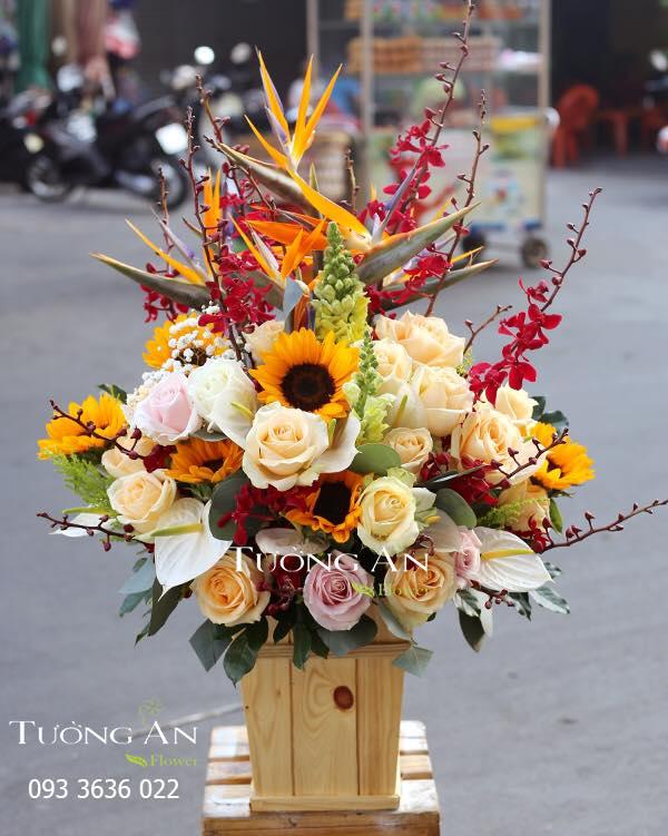 Cửa hàng hoa Tường An