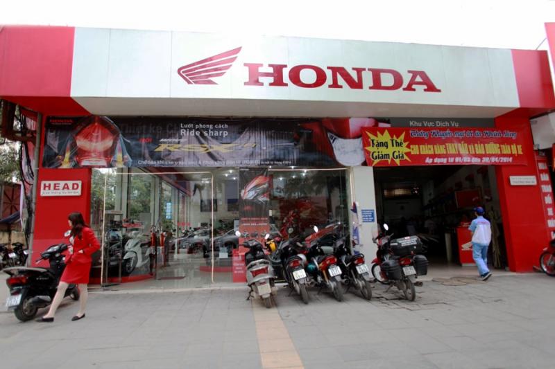 Cửa hàng Honda Mùa Xuân