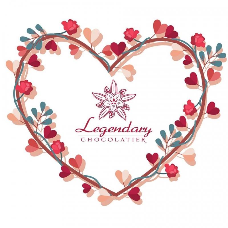 Logo của thương hiệu Legendary Chocolatier