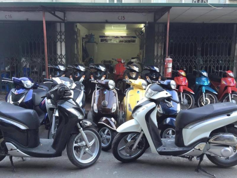 Cửa hàng mua bán xe máy cũ Huỳnh