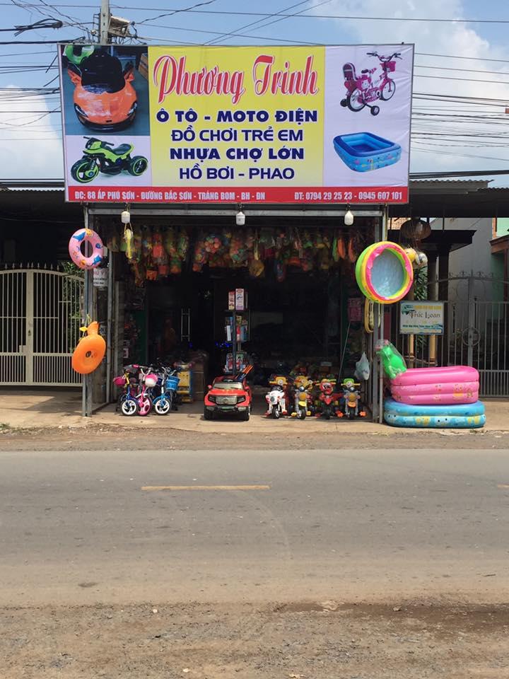 Cửa hàng ô tô điện, xe máy điện trẻ em Phương Trinh