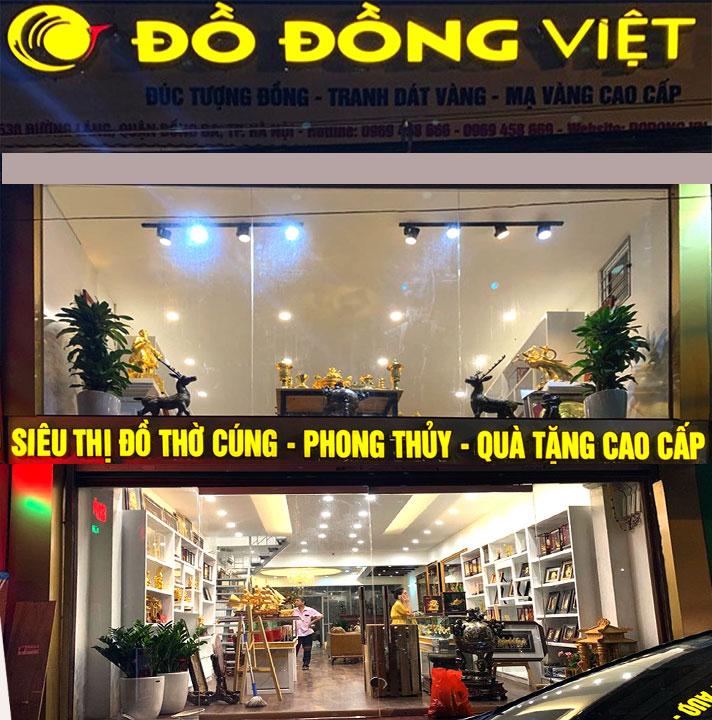 Cửa hàng phong thủy Đồ Đồng Việt
