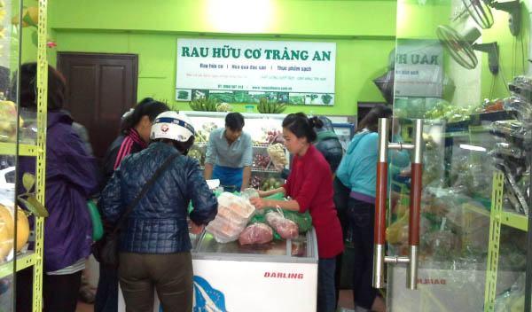 Cửa hàng Rau hữu cơ Tràng An