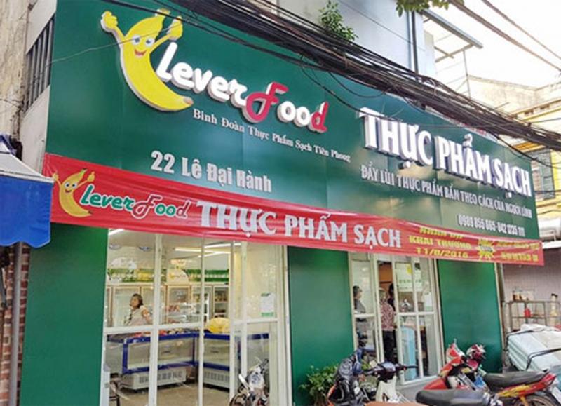 Cửa hàng rau sạch Clever food