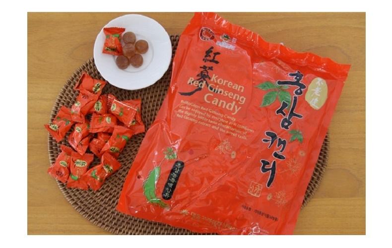 Sản phẩm kẹo Hồng Sâm tại cửa hàng Thịnh Phát
