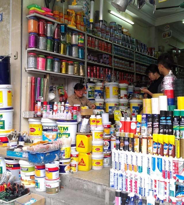 Cửa hàng sơn Trường Đạt