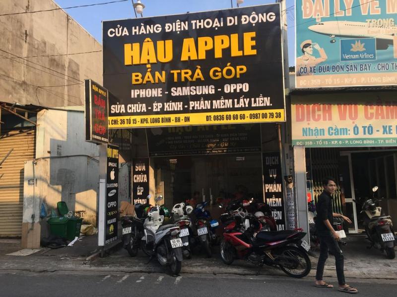Cửa hàng sửa chữa điện thoại Hậu Apple
