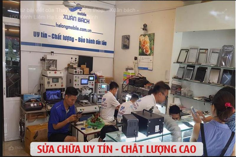 Cửa hàng sửa chữa điện thoại Xuân Bách Mobile