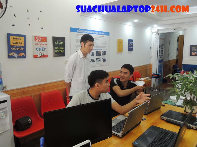Cửa hàng Sửa chữa Laptop 24h.com Thái Nguyên