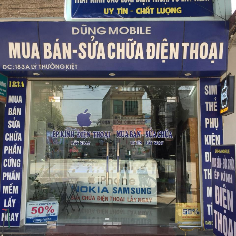 Cửa hàng sửa điện thoại Dũng Mobile