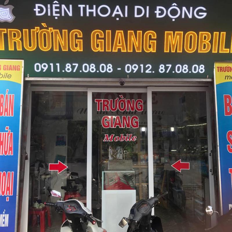 Cửa hàng sửa điện thoại Trường Giang Mobile
