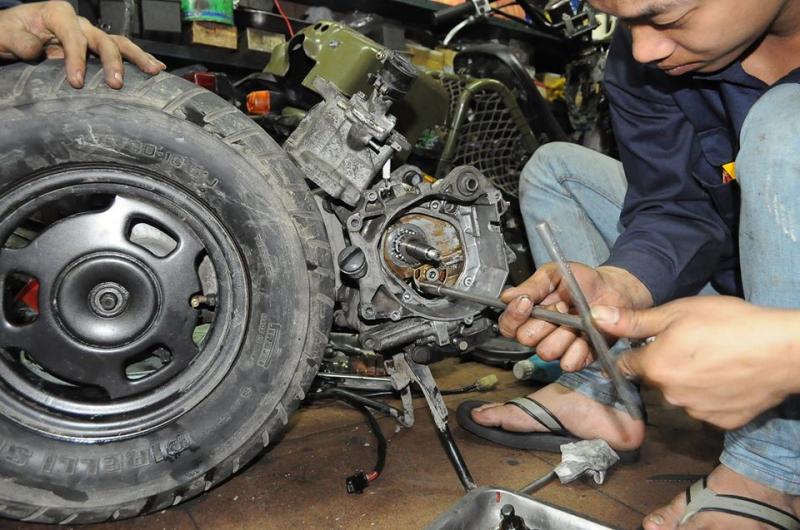 Cửa hàng sửa xe máy Thắng Béo