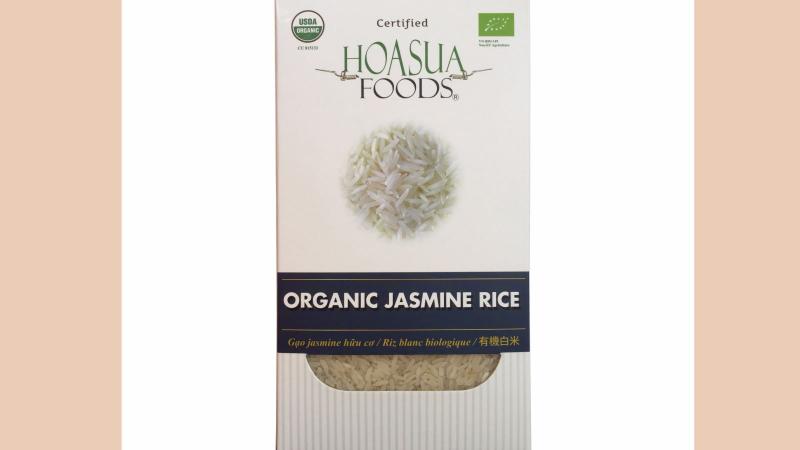 Một trong những sản phẩm gạo nổi tiếng tại cửa hàng