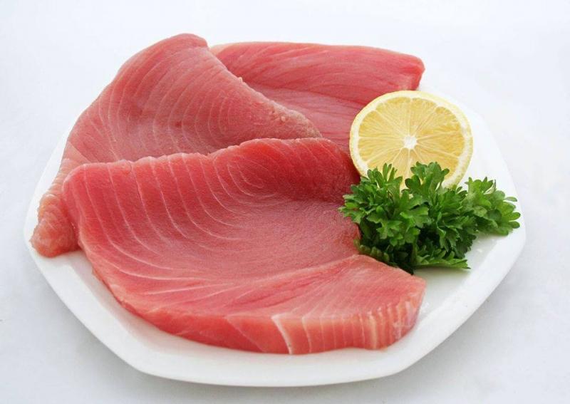 Cá ngừ chất lượng, giá tri dinh dưỡng cao luôn sẵn tại quán.
