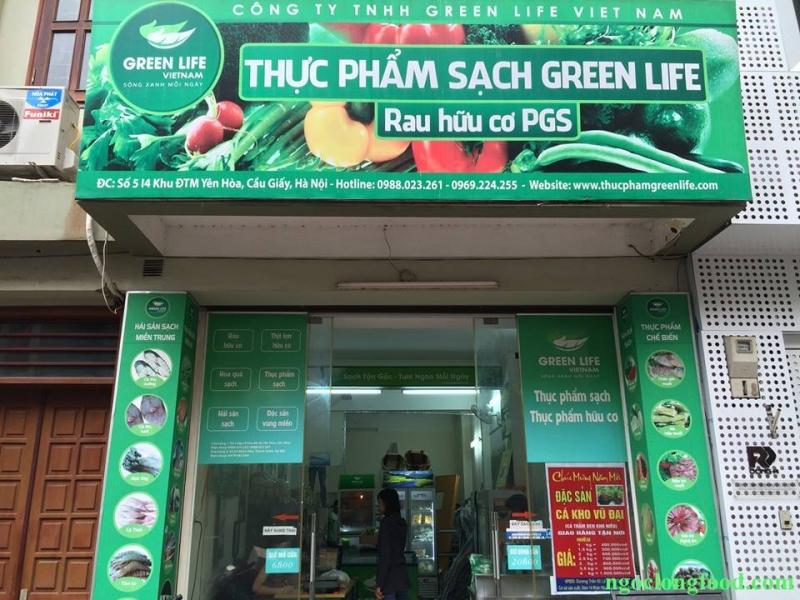 Một cửa hàng Thực phẩm Sạch GreenLife