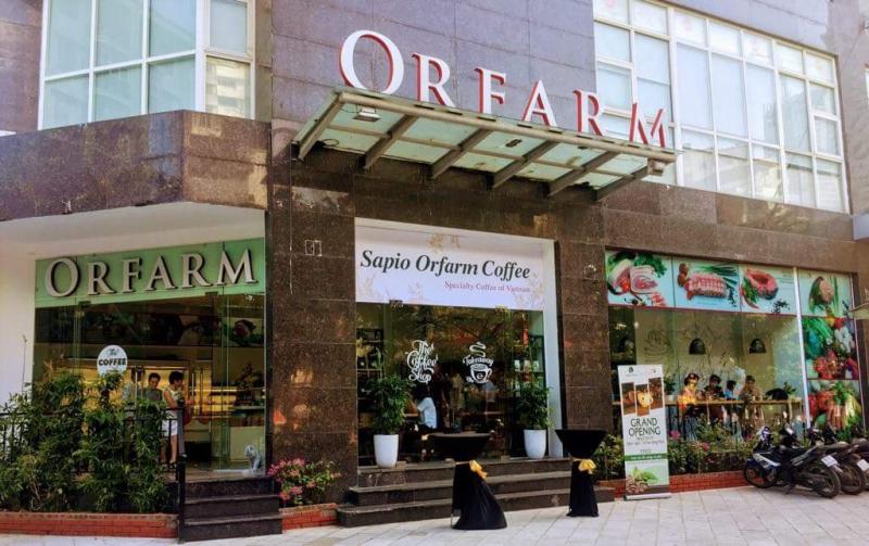 Cửa hàng thực phẩm sạch ORFARM