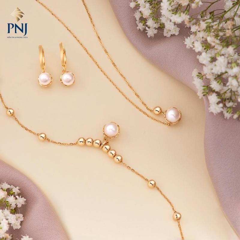 Cửa hàng trang sức PNJ
