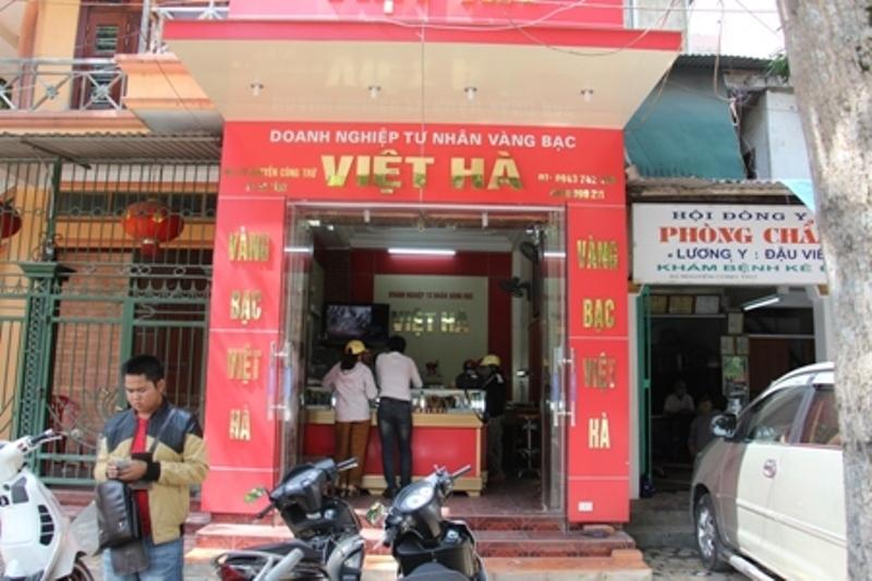 Cửa hàng vàng bạc Việt Hà
