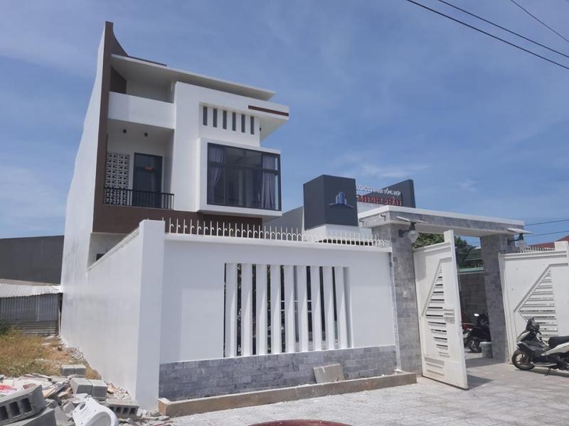 Công trình nhà ở đã hoàn thiện với vật liệu của Cửa hàng VLXD Thuận Lâm
