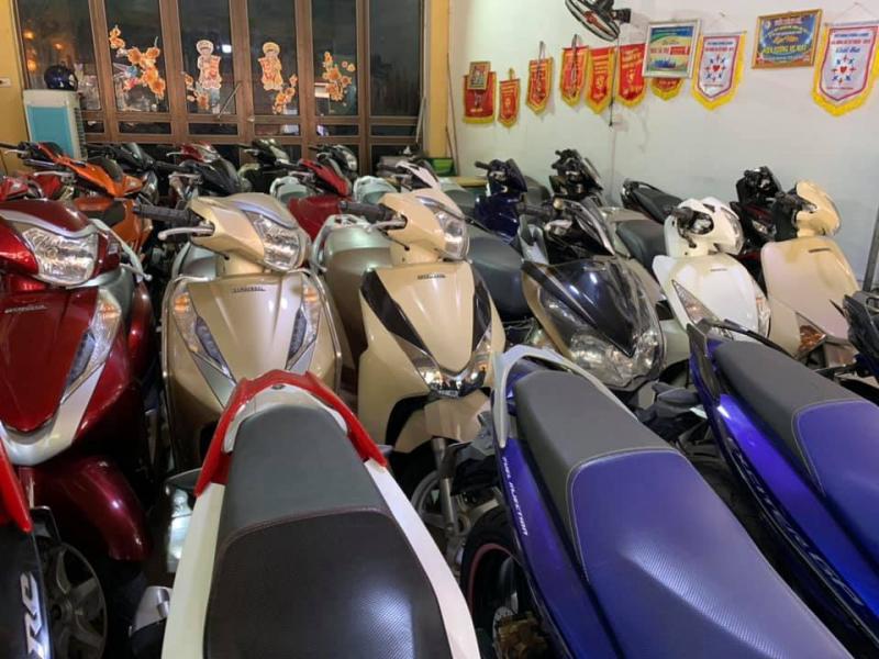 Cửa hàng xe máy Hiền Vương