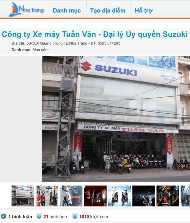 Mua bán xe máy Tuấn Vân là địa chỉ uy tín bạn có thể ghé đến tại Nha Trang