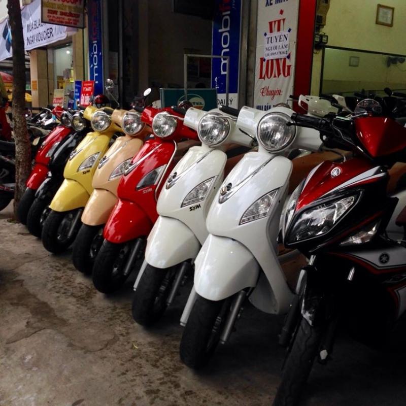 Cửa hàng xe máy Vũ Long