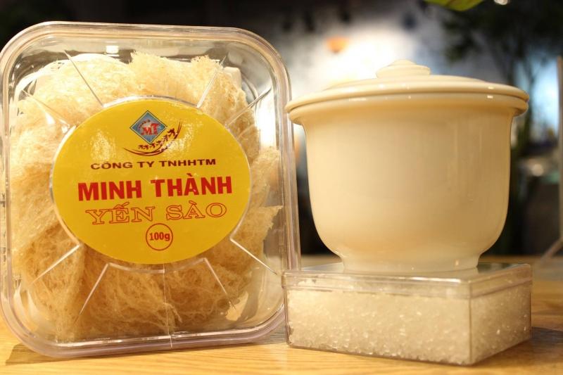 Các sản phẩm mà Cửa hàng yến sào Minh Thành  luôn được khách hàng đón nhận và ủng hộ một cách nhiệt tình