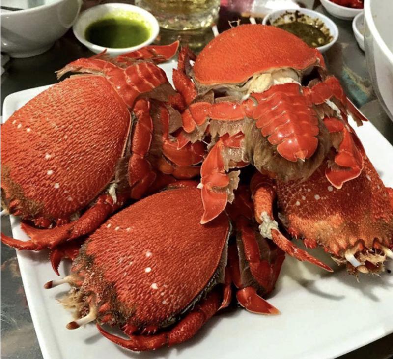 Cua Huỳnh Đế - đặc sản Phú Yên, thơm ngon, bổ dưỡng, thớ thịt cua săn chắc, trắng muốt nhô và độ đạm cao