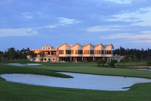 Một góc tại sân golf Cửa Lò