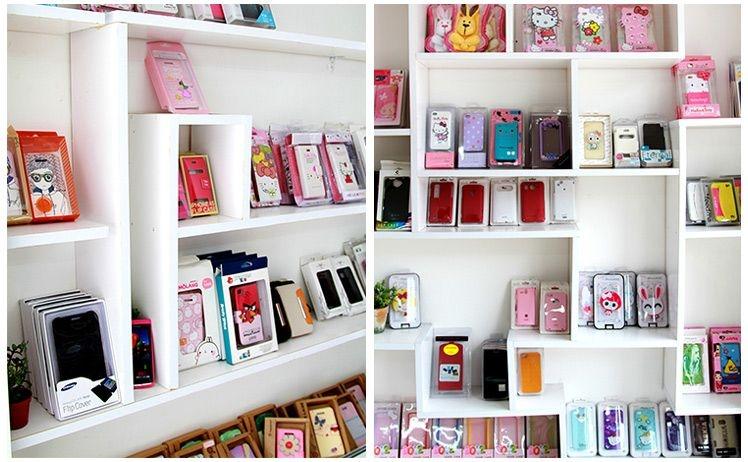 Cửa tiệm dán và trang trí điện thoại